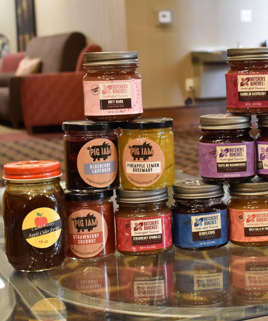 Butcher's Bunches local Utah jam woman owned